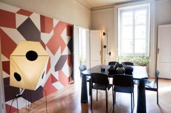 the visit studiopepe, brera design apartment, studiopepe milan design week, fuorisalone 2017, italianbark interior design blog, , terracotta pattern wall