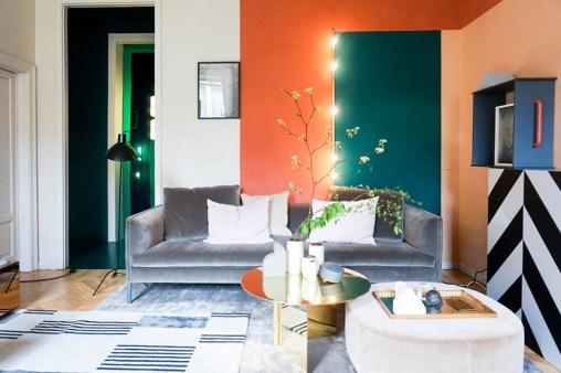 the visit studiopepe, brera design apartment, studiopepe milan design week, fuorisalone 2017, italianbark interior design blog, orange wall