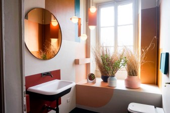 the visit studiopepe, brera design apartment, studiopepe milan design week, fuorisalone 2017, italianbark interior design blog, , colourful bathroom