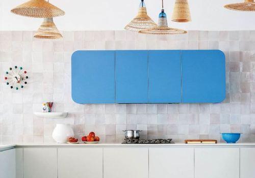 colourful kitchen ideas, kitchen design, italianbark interiordesignblog,, pet lamps, rattan lamps kitchen