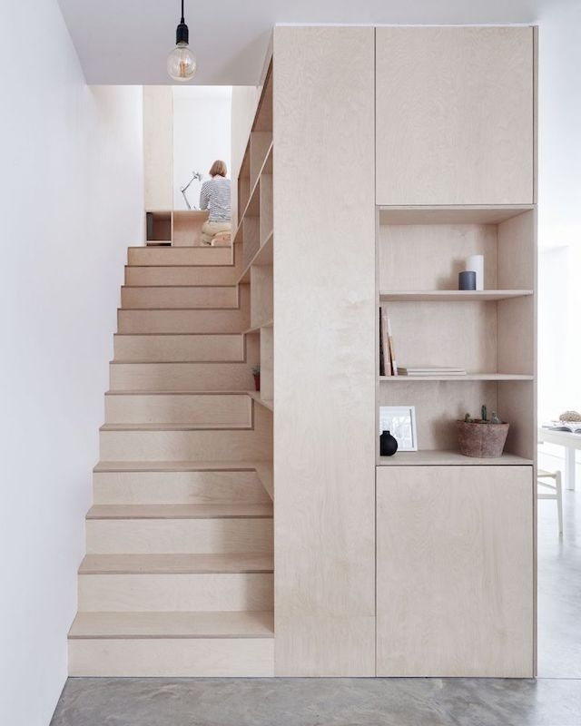 8 Compact Stairs For Cool Compact Spaces Italianbark   Staircases For Tight Spaces   Farmhouse   Cool   10 Ft Ceiling   Ladder   Stylish