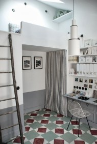 compact staircases design, small spaces ideas, small interiors, italianbark interior design blog, french small interior