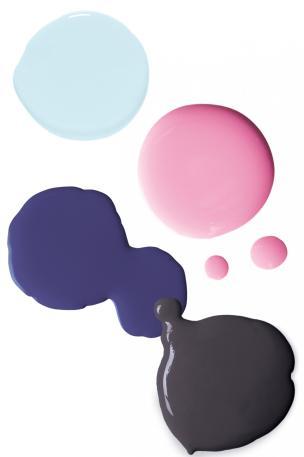 pink violet palette