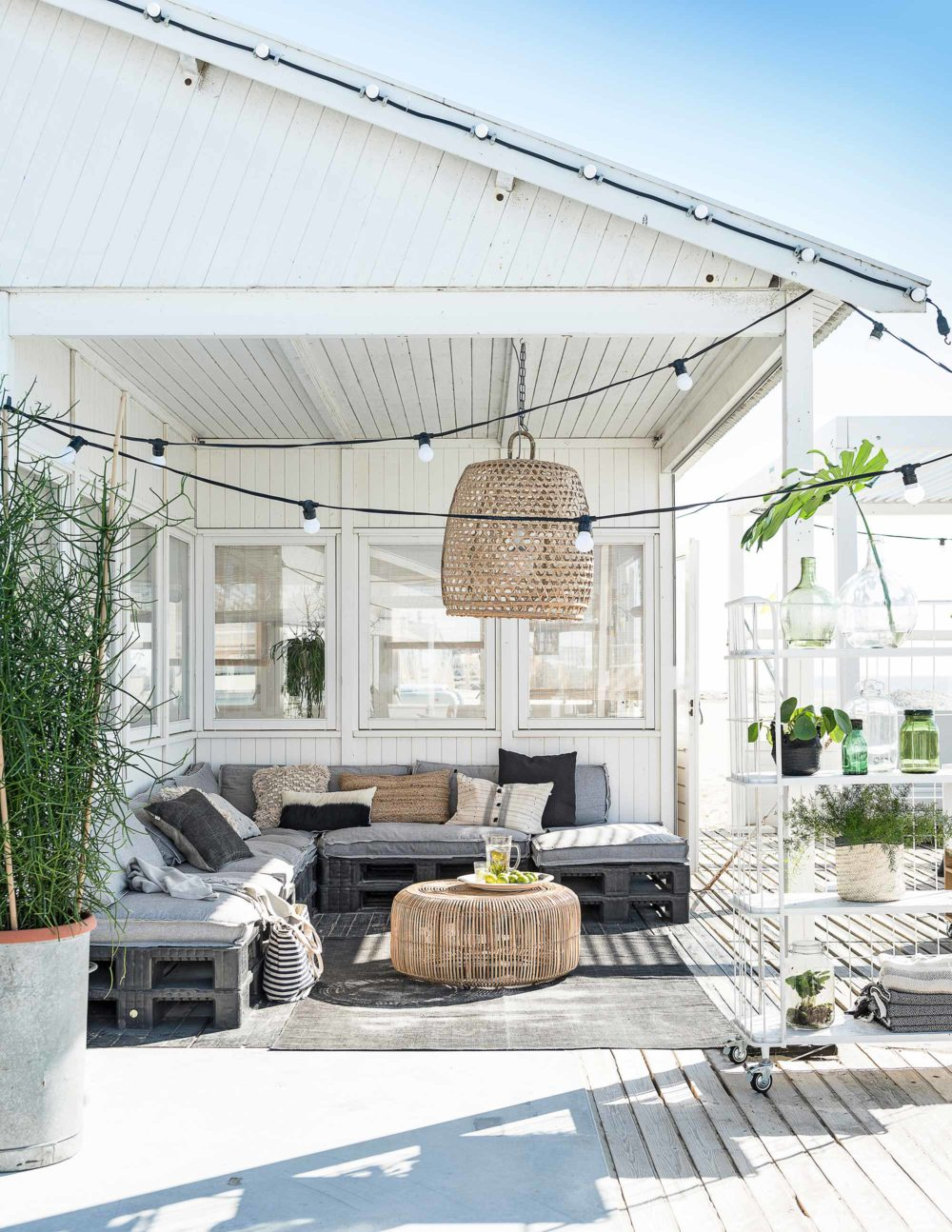 the perfect summer patio