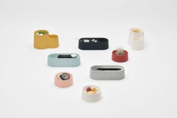 Drape Collection multi-functional trays by Shinya Yoshida