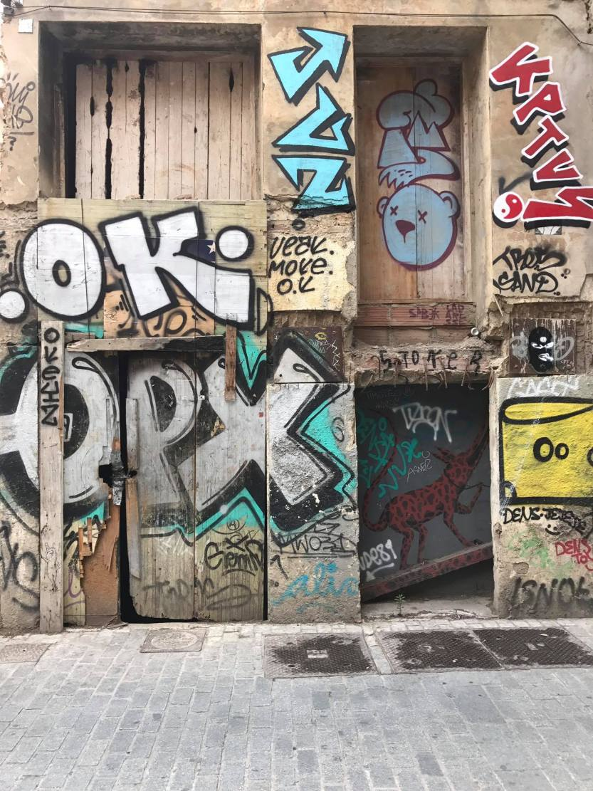 Road Trip in Spain, two weeks in spain, spain travel itinerary, valencia street art, graffiti