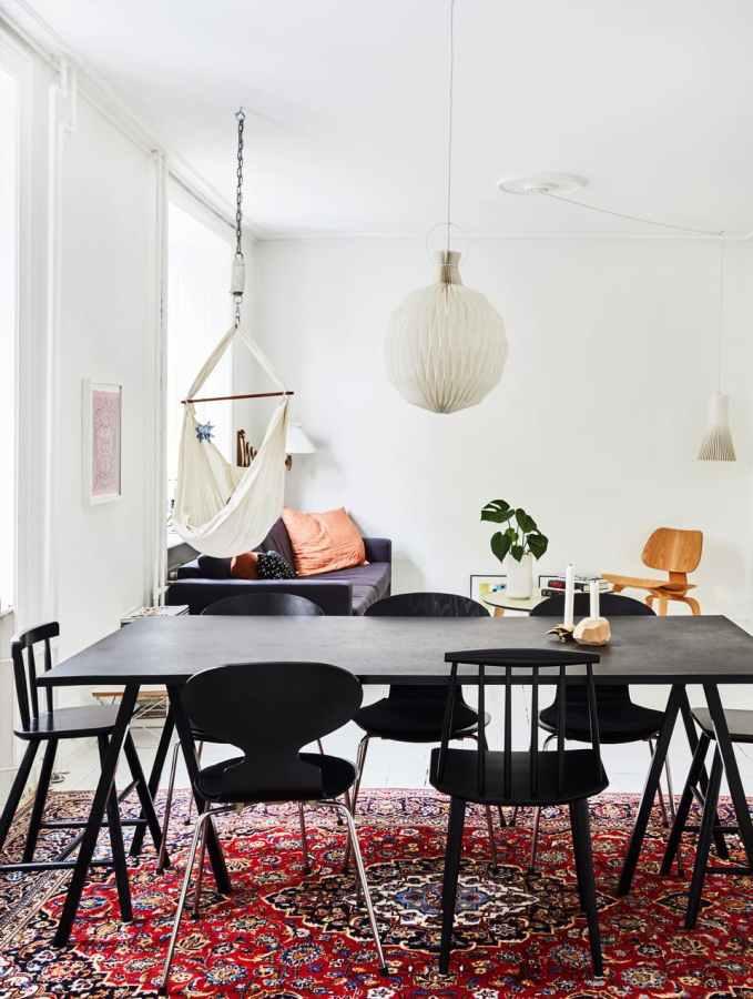 persian rugs trend, decorating with persian rugs, carpet trends, italianbark interior design blog