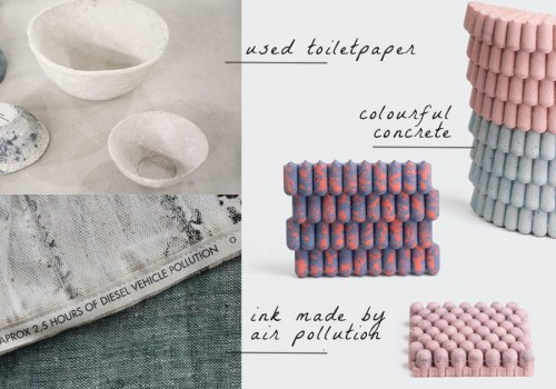 DUTCH DESIGN WEEK 2017 | 10 groundbreaking New Materials to help environment and design
