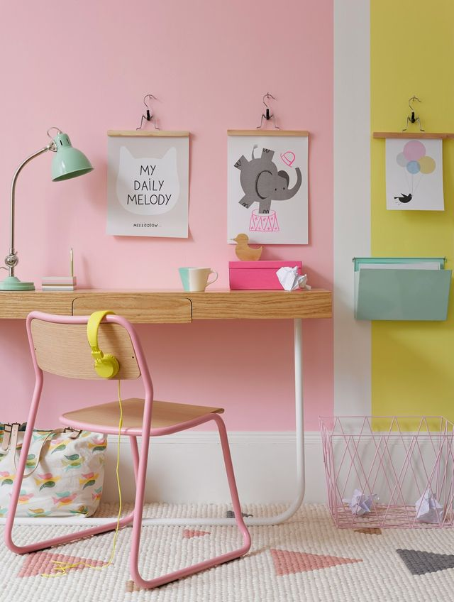 Enjoy Now Some More Inspiration For A Colorful Girl Bedroom In Millennial  Pink And Pastels ^_^
