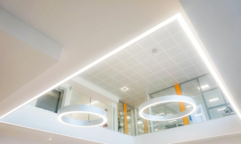 INTERIOR LIGHTING DESIGN   How to proper light an office interior, office interior lighting, panzeri lamps, panzeri lampade ufficio
