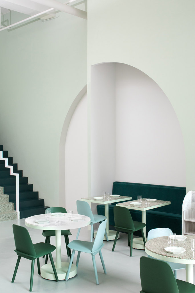 cafe design in china the budapest cafe pastel colors interior wes anderson design - White Cafe Design