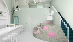 CAFE DESIGN | The Budapest Café in China is inspired…