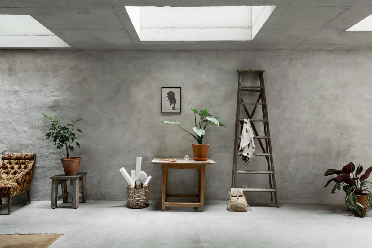 Concrete Walls Interior Trends, Raw Cement Walls, Scandinavian Style  Interiors, Decorate With Concrete