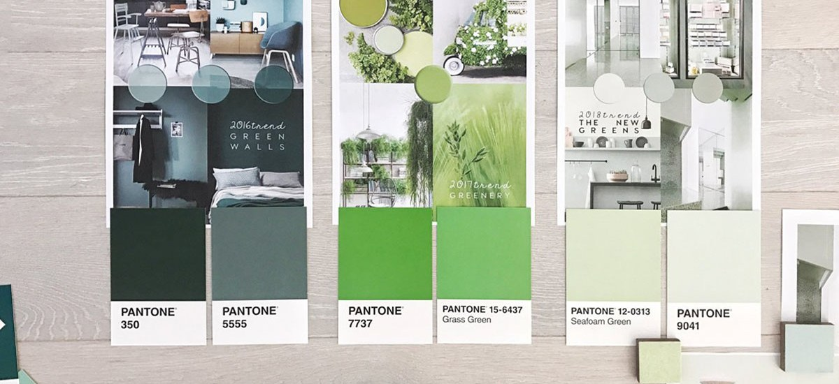 interior trends 2019, color trends in interiors, pastel greens, green decor trend