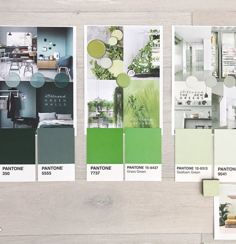 interior trends 2019, color trends in interiors, pastel greens, green decor trend