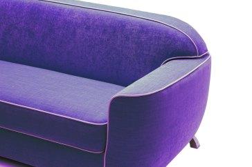 Milano Bedding, Charles sofa bed, ultraviolet sofa, pantone 2018 furniture