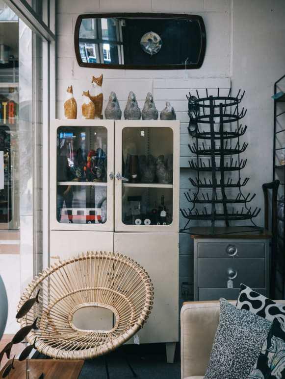 The Chapel Street Bazaar, Melbourne furniture shops, vintage retro furniture