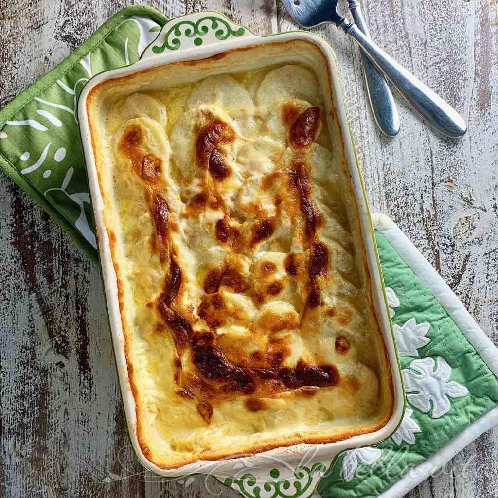 Creamy, Cheesy Dauphinois Potatoes
