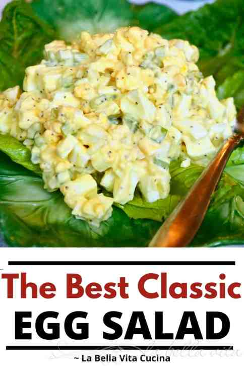 The BEST Classic Egg Salad
