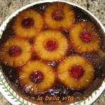 Caramel Crusted Pineapple Upside Down Cake