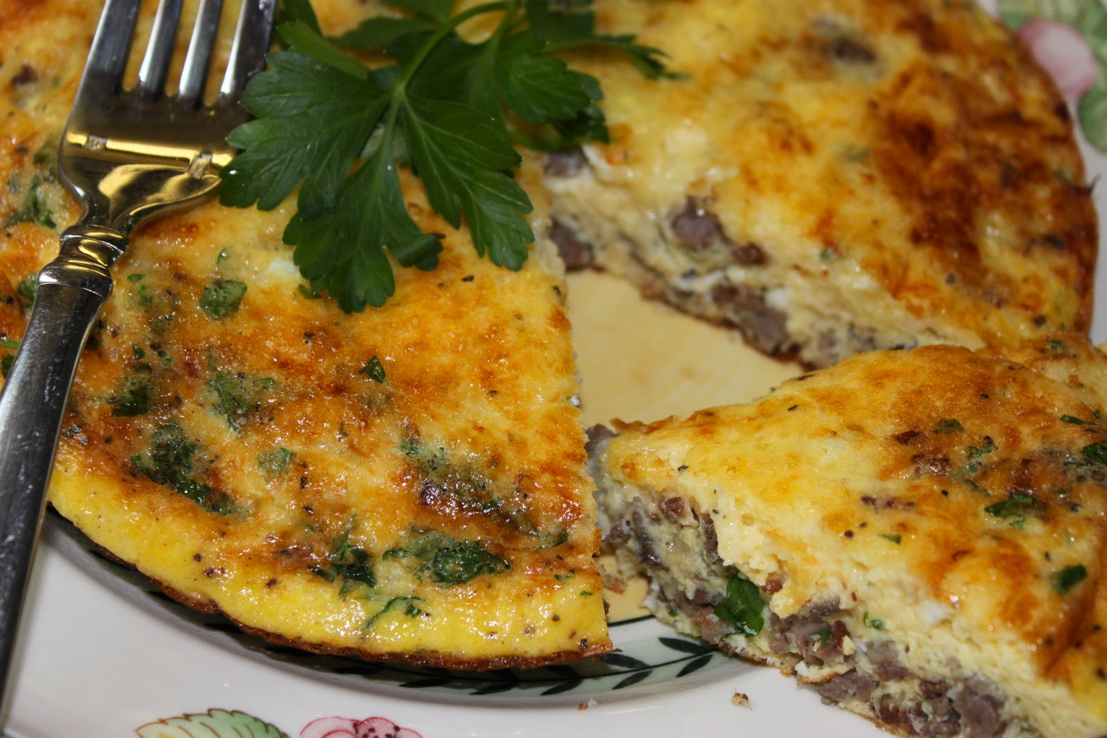 How To Make a Perfect Frittata with Italian Sausage and Cheeses - La ...