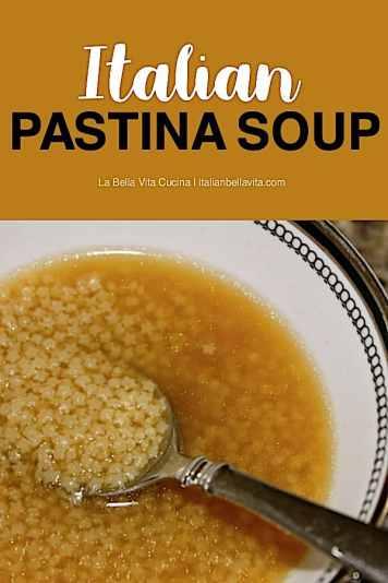 Classic Italian Pastina Soup