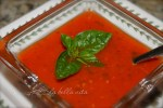 Fresh Tomato Basil Bisque Soup