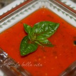 Fresh Tomato Basil Bisque Soup