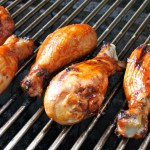 Grilled Buffalo Chicken Drummies
