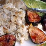 Brown Sugar Roasted Figs Oatmeal
