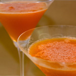 Blood Orange Sgroppino Cocktails