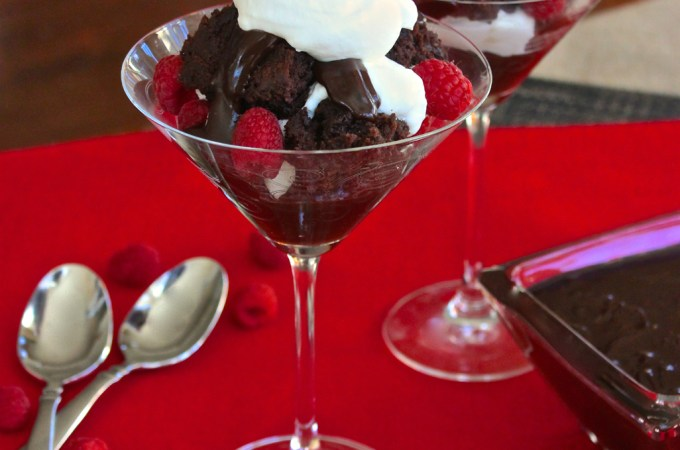 Chocolate Raspberry Trifles