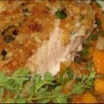 Amazing Macadamia Nut Crusted Mahi Mahi with Papaya Salsa