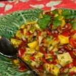 Superb and Easy Mango Pineapple Salsa