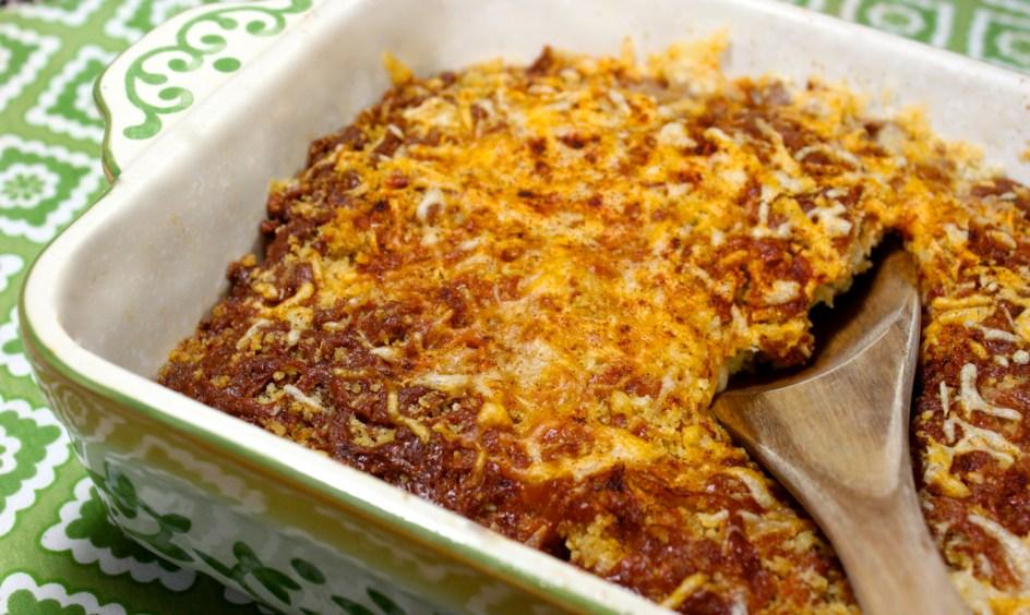 zucchini squash and tomato with pimento cheese