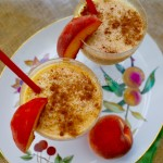 Cinnamon and Spice Peach Almond Smoothie