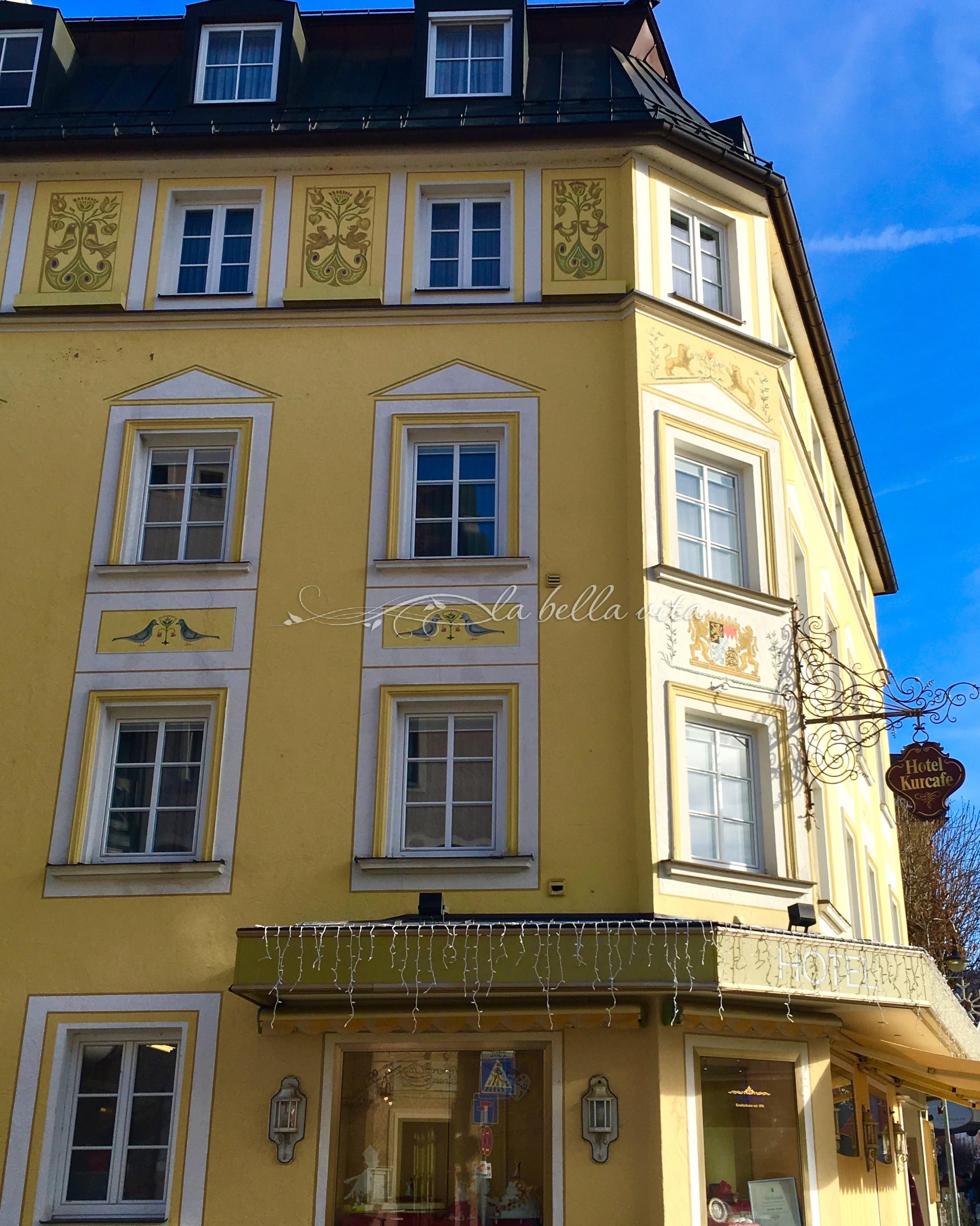 Fussen bavaria germany the village by neuschwanstein for Fussen design hotel