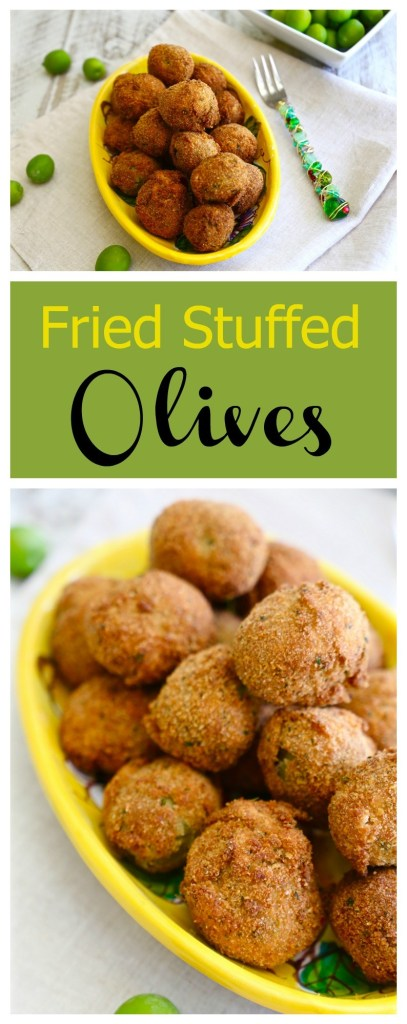 Italian Fried Stuffed Olives La Bella Vita Cucina
