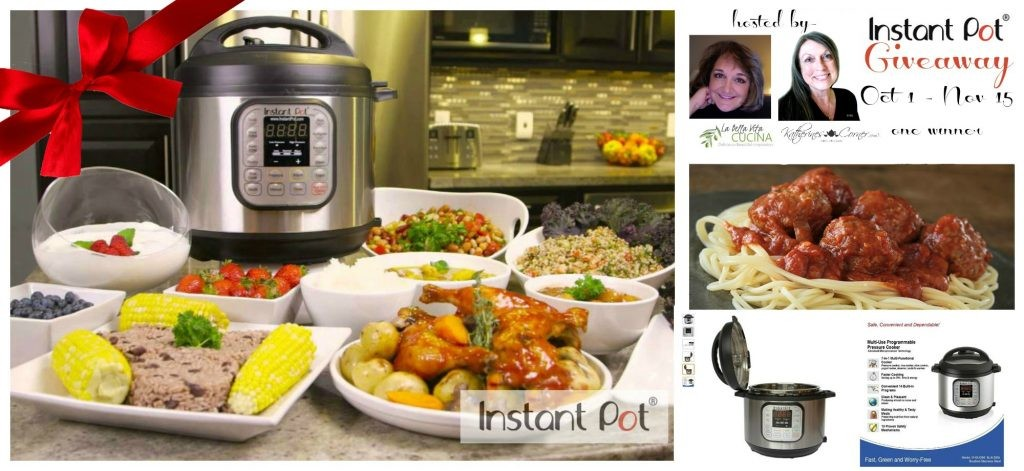 Instant Pot Christmas Giveaway for the Foodie in your life