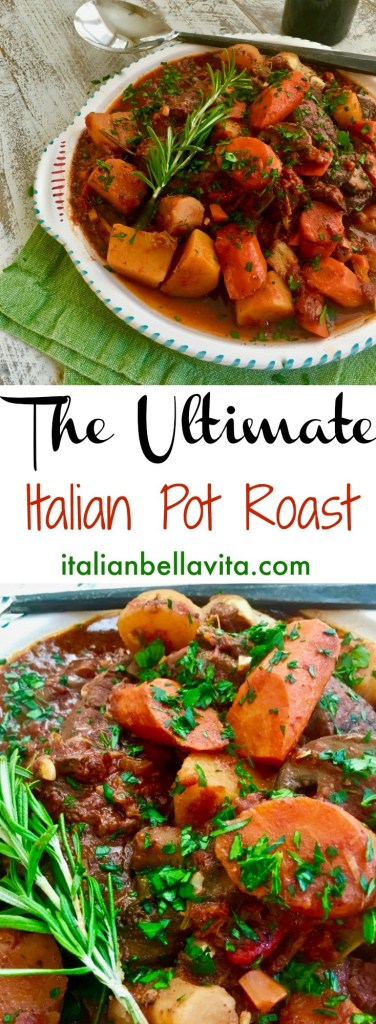 Italian Pot Roast with Vegetables (Stracotto Di Manzo)