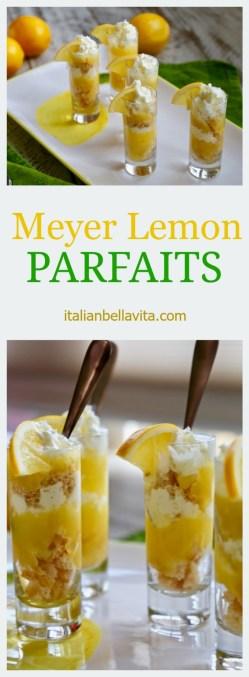 Mini Meyer Lemon Parfaits