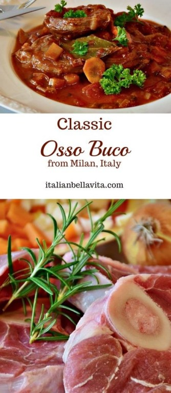 Classic Osso Buco Milan Italy