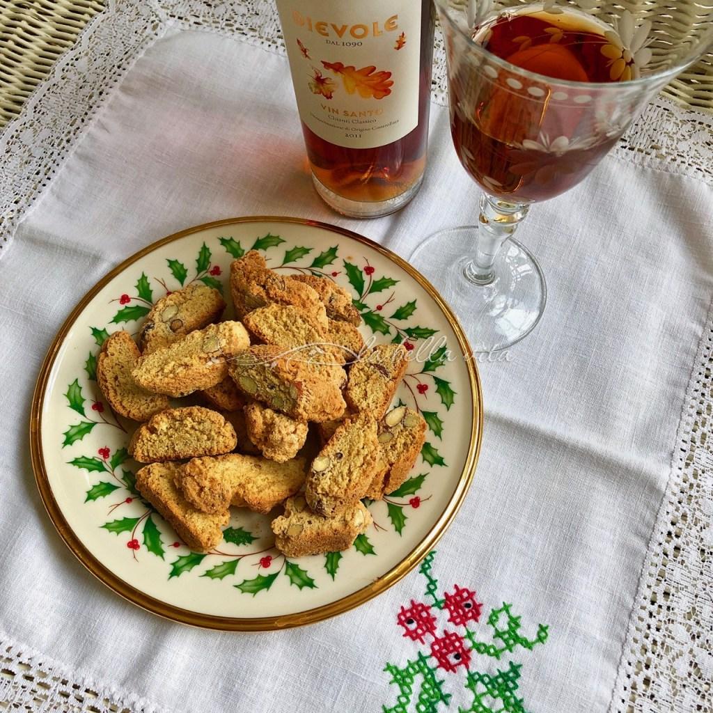 Contucci and Vin Santo Wine