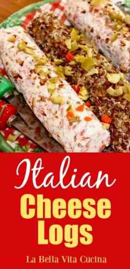 Italian Cheese Logs