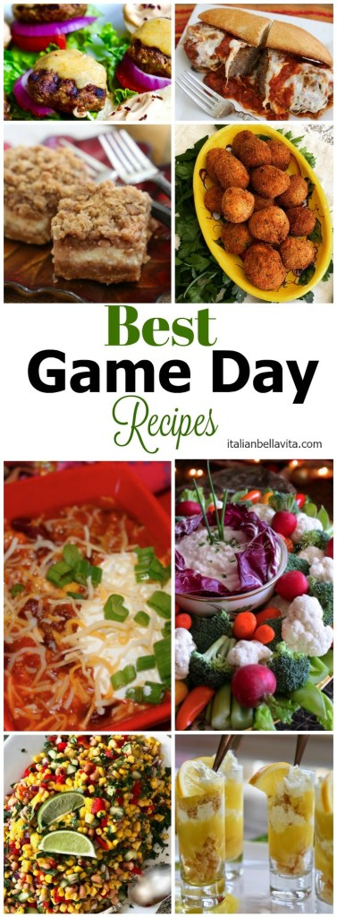 BEST Game Day Recipes to please ANYONE!