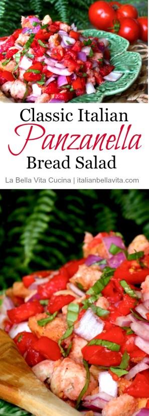 Panzanella Classic Italian Bread Salad Tuscan