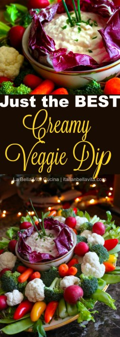 The Best Vegetable and Chip Dip
