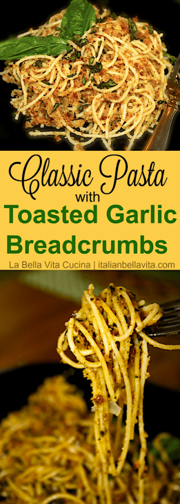 Spaghetti with Garlic Breadcrumbs