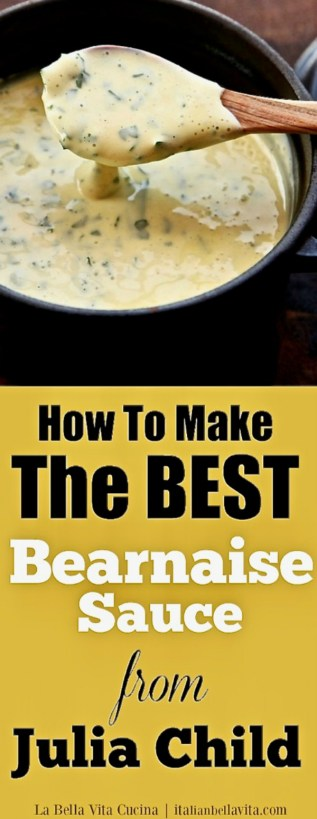How to Make Julia Child's BEST Bearnaise Sauce