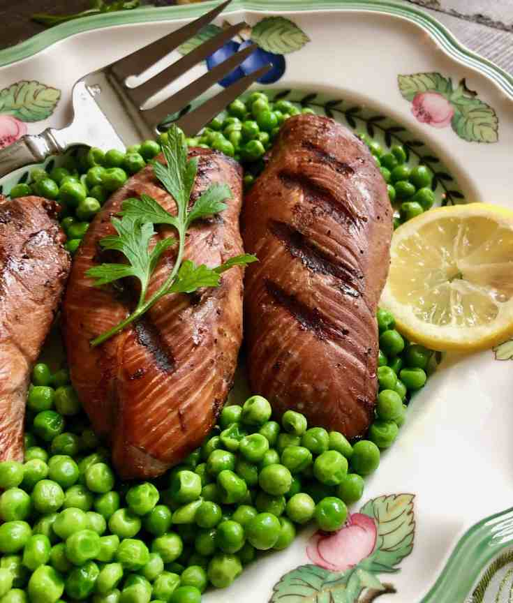 The Best Grilled Turkey Breasts Marinated in Garlic, Soy, and Ginger